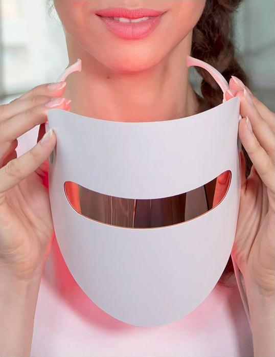 фотодинамическа маска использование, LED-маска, светодиодная маска