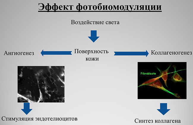 фотобиомодуляция, LED-маска
